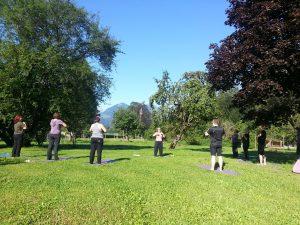 Meditation lernen an einem schönen Ort